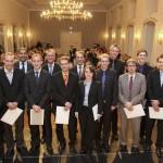 Absolventenverabschiedung Wirtschaftsinformatik an der Otto-Friedrich Universität Bamberg